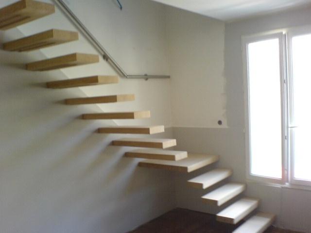 Quart tournant palier - Transformer un escalier en bois ...
