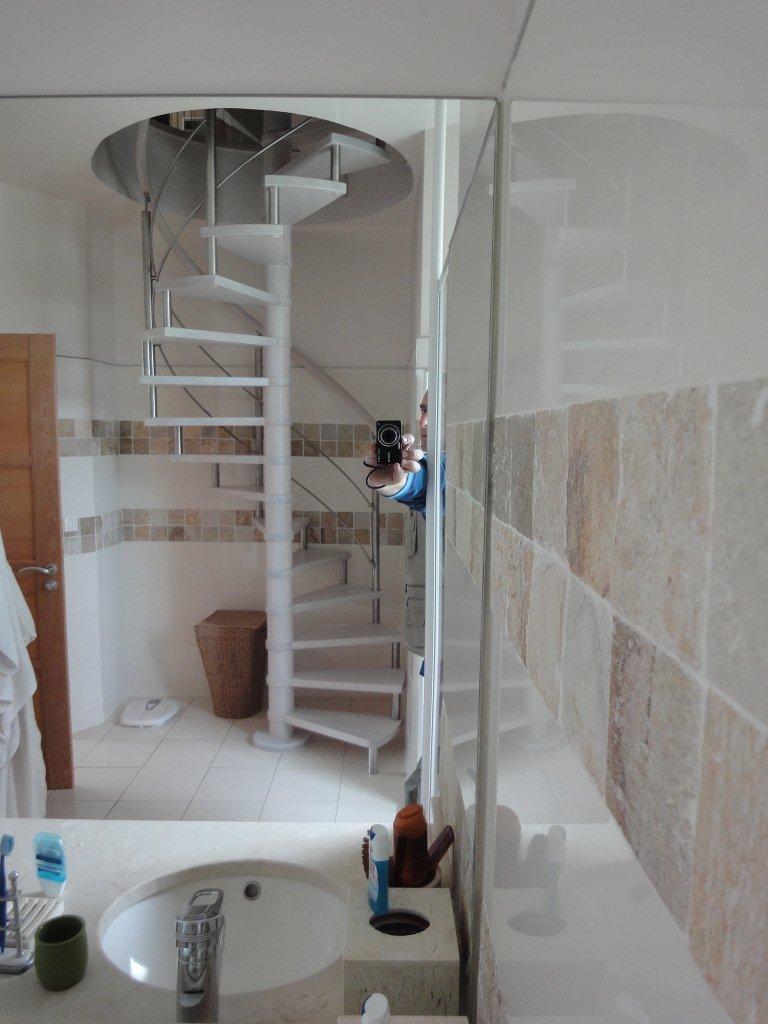 Escaliers deparis 77 escaliers en bois sur mesure ile de france fabrication - Petit escalier colimacon ...
