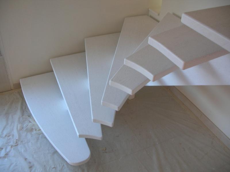Avant apres pose - Escalier beton peint ...