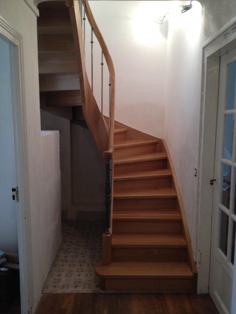 Escaliers deparis 77 escaliers en bois sur mesure ile de - Escalier debillarde ...